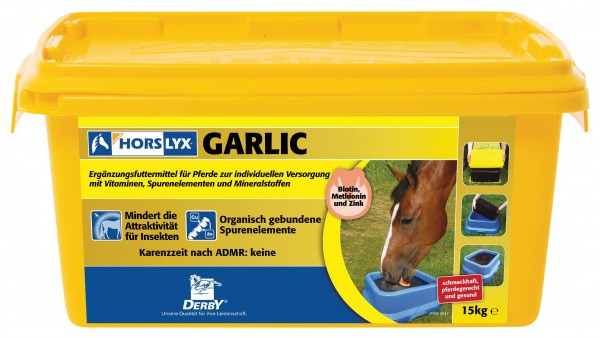 Derby Horslyx Garlic